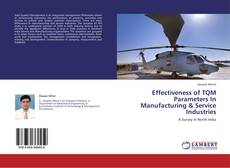 Bookcover of Effectiveness of TQM Parameters In Manufacturing & Service Industries