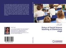 Bookcover of Status of Social Science teaching at Elementary stage