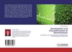 Portada del libro de Development and Characterization of Nanoemulsion