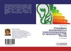 Обложка Специфика менеджмента и энергоменеджмента   на предприятиях ТЭК России