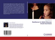 Buchcover von Resilience In Adult Women Incest Survivors