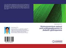 Bookcover of Ocimumsanctum extract and oralhypoglycemics in diabetic gastroparesis