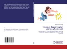 Bookcover of Context Based English Learning Resources