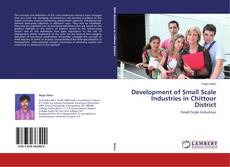 Bookcover of Development of Small Scale Industries in Chittoor District