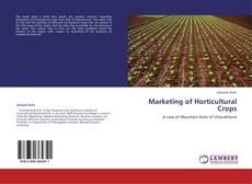 Portada del libro de Marketing of Horticultural Crops