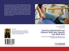 Обложка Exercise Interventions on Patients With Non Specific Low Back Pain