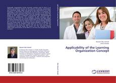 Capa do livro de Applicability of the Learning Organization Concept