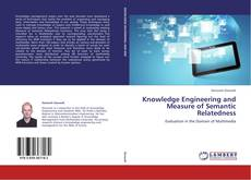 Couverture de Knowledge Engineering and  Measure of Semantic Relatedness