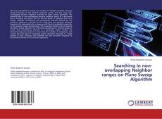 Capa do livro de Searching in non-overlapping Neighbor ranges on Plane Sweep Algorithm