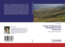 Bookcover of Study of Agritourism Development and Promotion