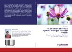 Portada del libro de Bt and Non-Bt cotton hybrids: Nitrogen fertilizer effects