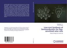 Capa do livro de Low-cost Synthesis of Semiconductors for Dye-sensitized solar cells