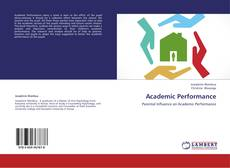 Buchcover von Academic Performance
