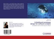 Обложка A likelihood prototype design for software analysis