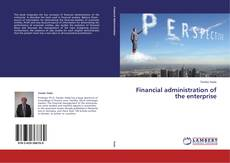 Bookcover of Financial administration of the enterprise