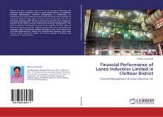 Buchcover von Financial Performance of Lanco Industries Limited in Chittoor District