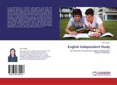 Capa do livro de English Independent Study