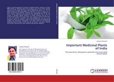 Borítókép a  Important Medicinal Plants of India - hoz
