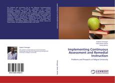 Portada del libro de Implementing Continuous Assessment and Remedial Instruction