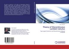 Bookcover of Theory of Discontinuous Lambek Calculus