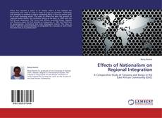 Обложка Effects of Nationalism on Regional Integration