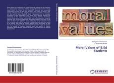 Copertina di Moral Values of B.Ed Students