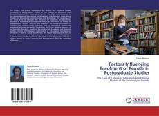 Couverture de Factors Influencing Enrolment of Female in Postgraduate Studies