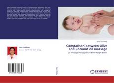 Bookcover of Comparison between Olive and Coconut oil massage