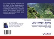 Bookcover of Local Community Support for Tourism Development
