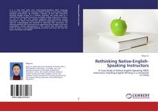 Portada del libro de Rethinking Native-English-Speaking Instructors