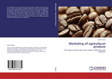 Обложка Marketing of agricultural produce