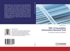Portada del libro de TIRT: A Traceability Information Retrieval Tool