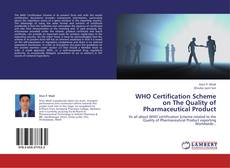 Обложка WHO Certification Scheme on The Quality of Pharmaceutical Product