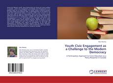 Capa do livro de Youth Civic Engagement as a Challenge to the Modern Democracy