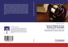 Bookcover of Human Rights & Law Relating to HIV/AIDS