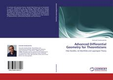Bookcover of Advanced Differential Geometry for Theoreticians