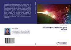 Bookcover of RF-MEMS: A Technological Aspect