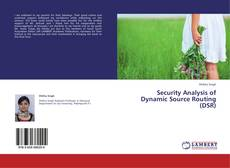 Bookcover of Security Analysis of Dynamic Source Routing (DSR)