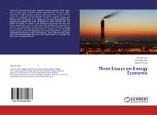 Copertina di Three Essays on Energy Economic