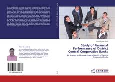 Bookcover of Study of Financial Performance of District Central Cooperative Banks