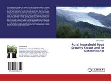 Обложка Rural household Food Security Status and its Determinants