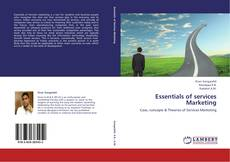 Bookcover of Essentials of services Marketing