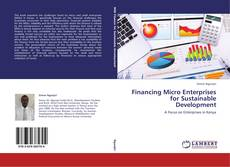 Bookcover of Financing Micro Enterprises for Sustainable Development