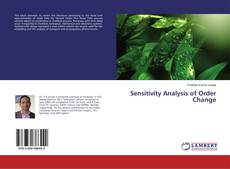 Bookcover of Sensitivity Analysis of Order Change