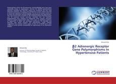 Bookcover of β2 Adrenergic Receptor Gene Polymorphisms In Hypertensive Patients