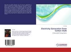 Capa do livro de Electricity Generation from Cotton Stalk