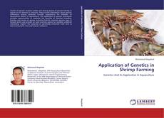Capa do livro de Application of Genetics in Shrimp Farming