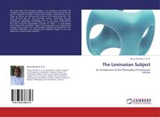 Bookcover of The Levinasian Subject