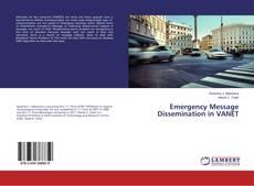 Couverture de Emergency Message Dissemination in VANET