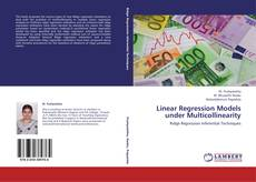 Capa do livro de Linear Regression Models under Multicollinearity